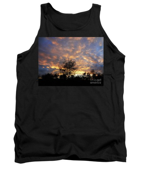 Sunset Glow Tank Top by Gem S Visionary