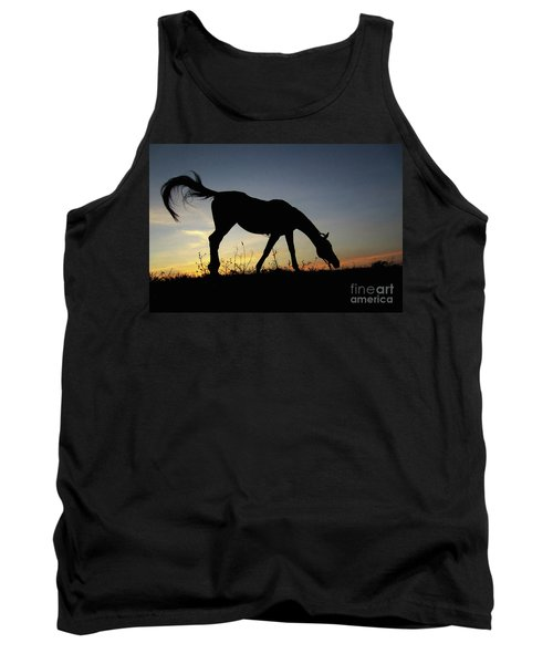 Sunset Horse Tank Top