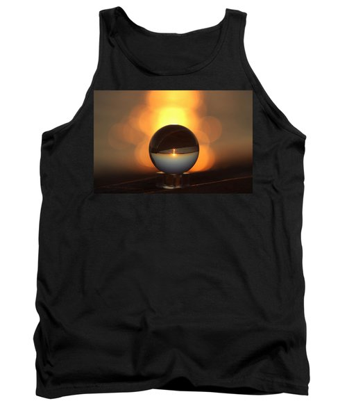Sunset In Crystal Ball Tank Top