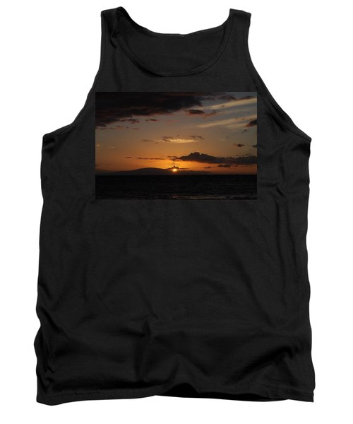 Sunset In Maui 2 Tank Top by Michael Albright