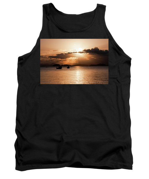 Sunset In Southern Brazil Tank Top