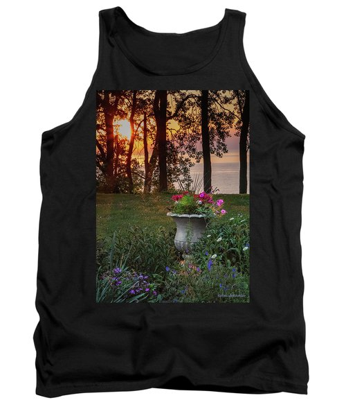 Sunset In The Flowers Tank Top