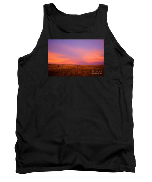 Sunset In Wyoming Tank Top