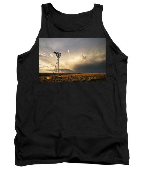 Sunset Near Santa Rosa New Mexico Tank Top