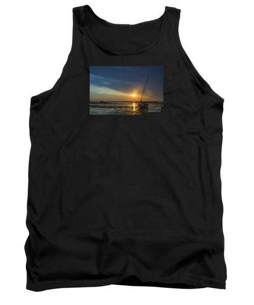 Sunset On Cape Cod Tank Top by Diane Diederich