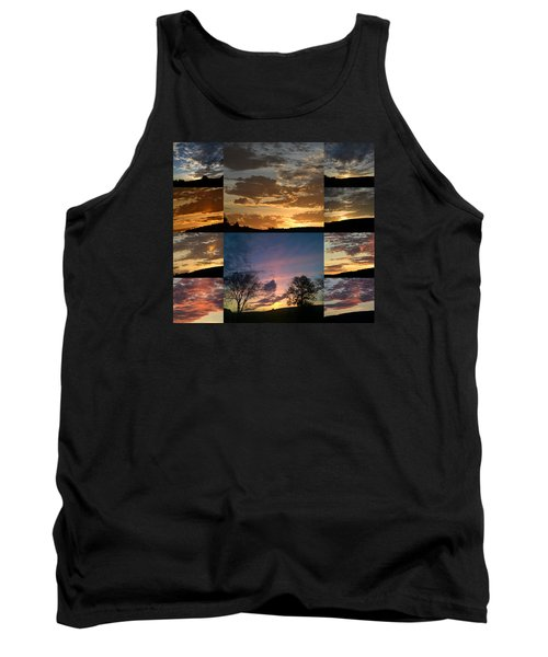 Sunset On Hunton Lane Tank Top by Carlee Ojeda
