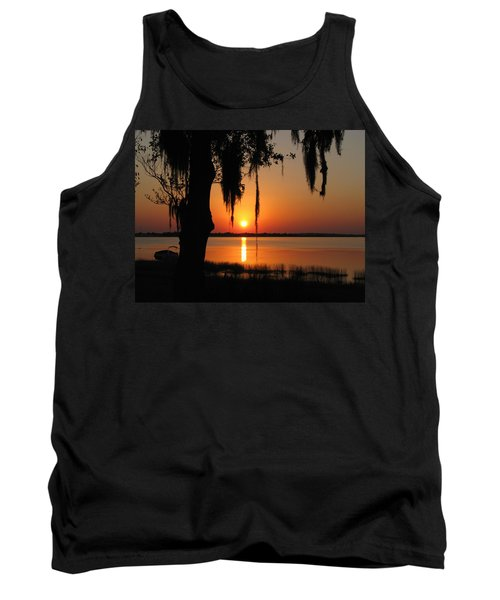 Sunset On Lake Minneola Tank Top
