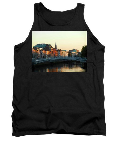 Sunset On The Ha'penny Tank Top