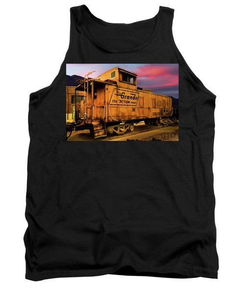 Sunset On The Rio Grande Tank Top