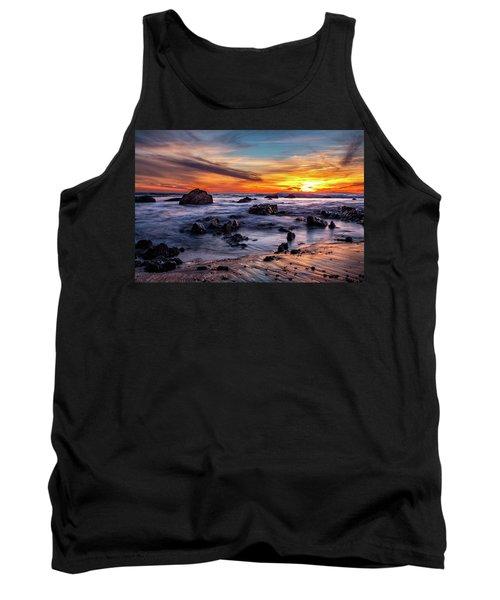 Sunset On The Rocks Tank Top