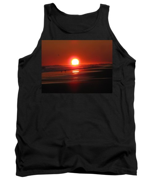 Sunset On The Sea Tank Top