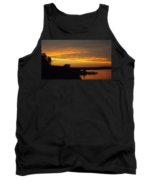 Sunset On The Shore  Tank Top by Don Koester
