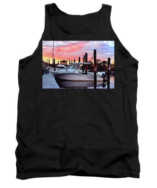 Sunset On The Water Tank Top