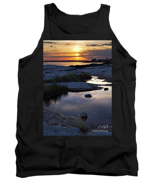 Sunset Over Boothbay Harbor Maine  -23095-23099 Tank Top