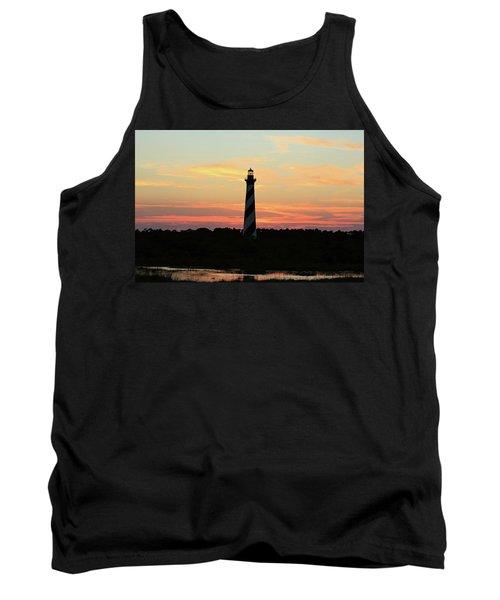 Sunset Over Cape Hatteras Light Tank Top