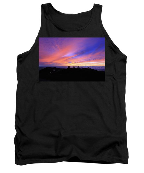 Sunset Over The Clouds Tank Top