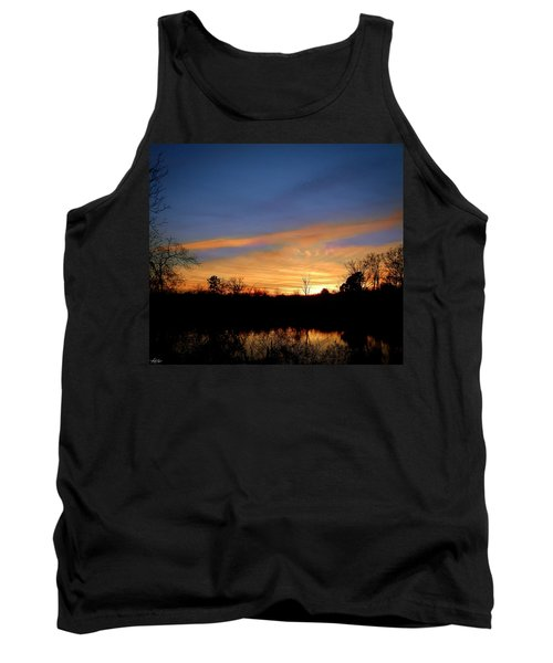 Sunset Over The Sabine 02 Tank Top