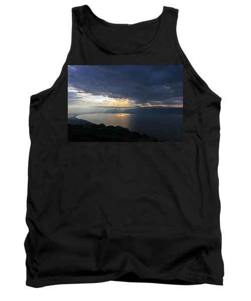 Sunset Over The Sea Of Galilee Tank Top