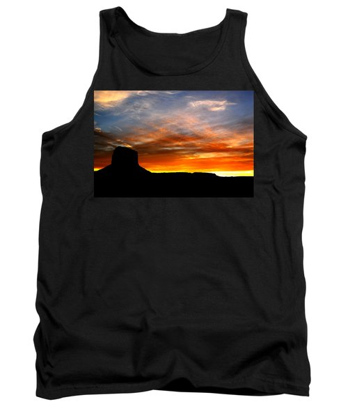 Tank Top featuring the photograph Sunset Sky by Harry Spitz