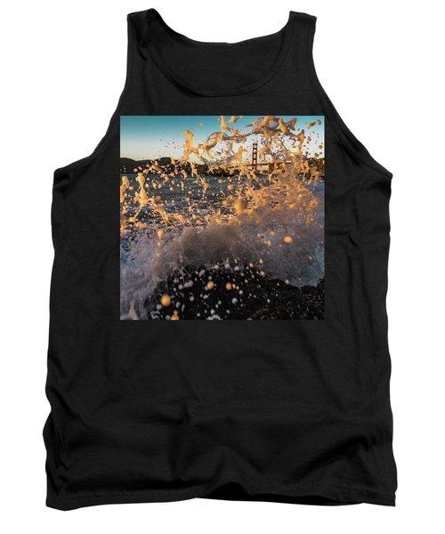 Sunset Splash Tank Top