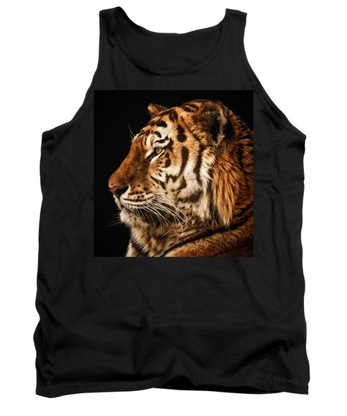 Sunset Tiger Tank Top