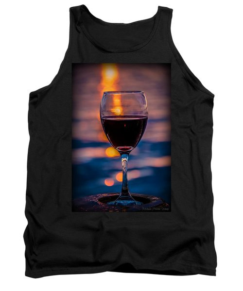 Sunset Wine Tank Top