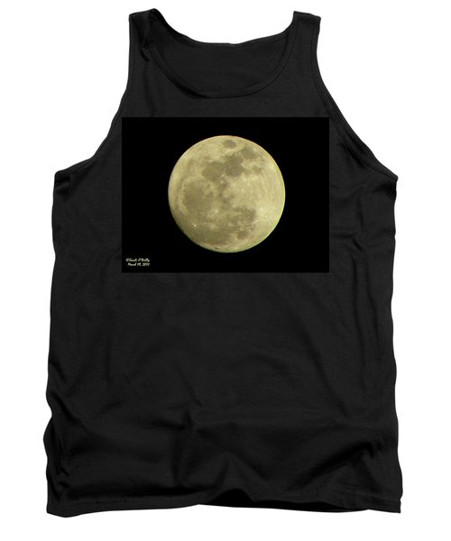 Super Moon March 19 2011 Tank Top