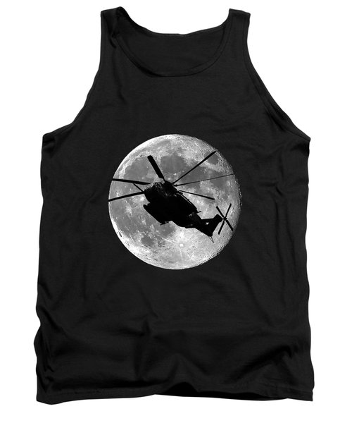 Super Stallion Silhouette .png Tank Top by Al Powell Photography USA