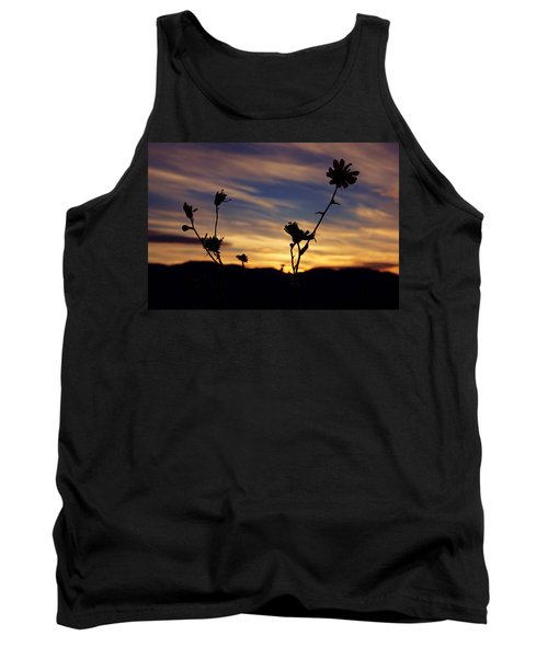Superbloom Sunset In Death Valley 100 Tank Top