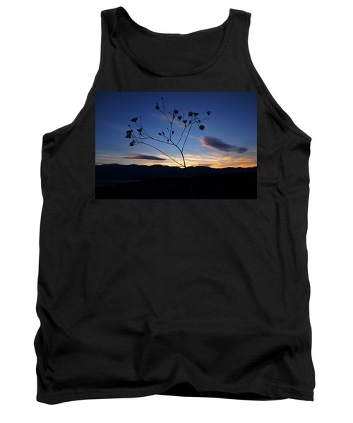 Tank Top featuring the photograph Superbloom Sunset In Death Valley 101 by Daniel Woodrum