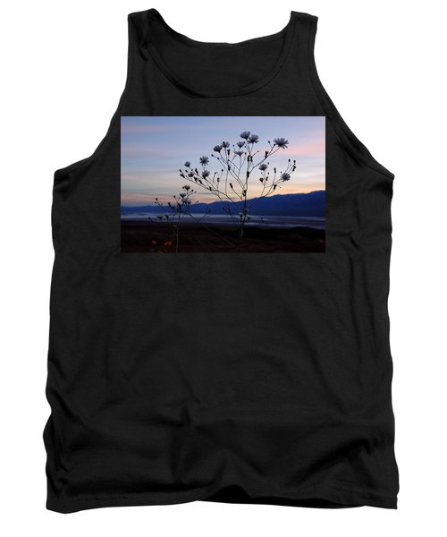 Tank Top featuring the photograph Superbloom Sunset In Death Valley 102 by Daniel Woodrum