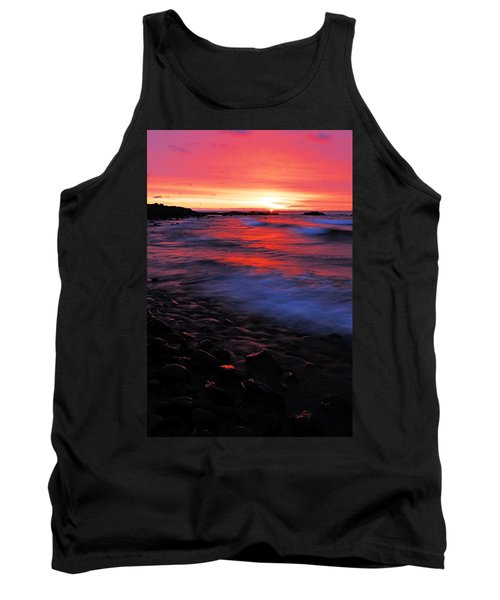 Superior Sunrise Tank Top by Larry Ricker