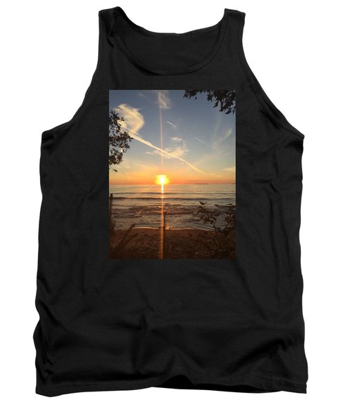 Superior Sunset Tank Top by Paula Brown