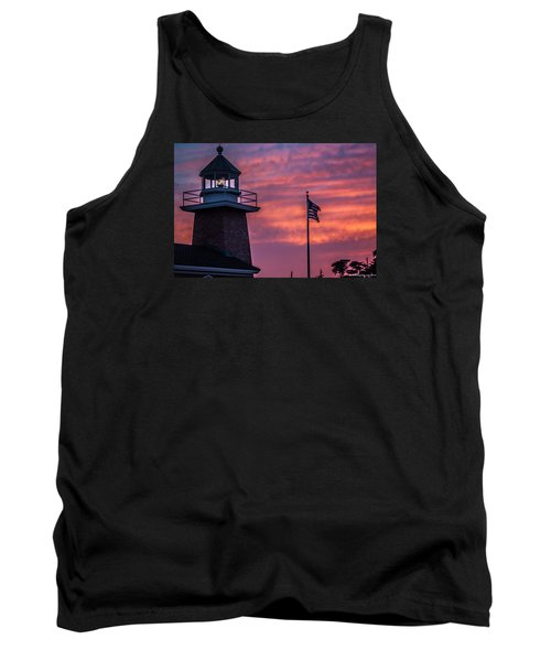 Surfing Museum Full Color  Tank Top by Lora Lee Chapman