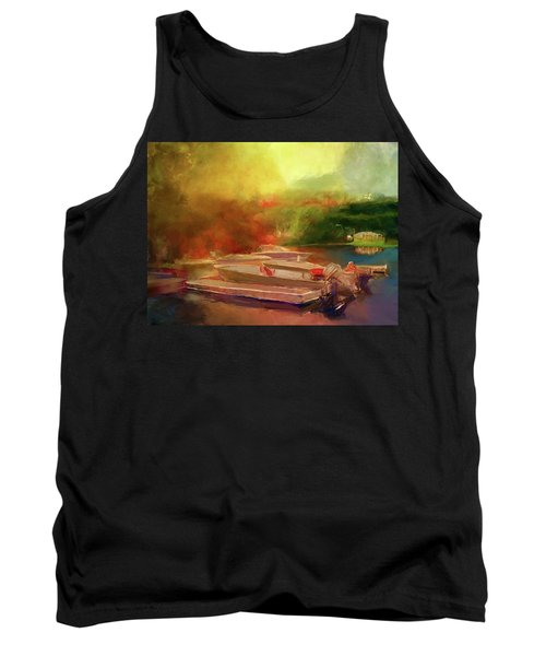 Surreal Sunset In Spanish Tank Top