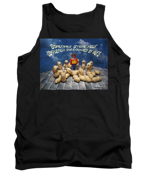 Surrounded By Nuts Tank Top