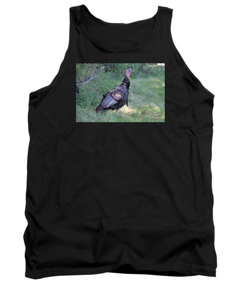 Surveying The Area Tank Top by Doris Potter