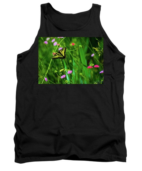 Swallowtail Butterfly Tank Top