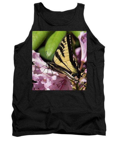 Swallowtail Butterfly Tank Top by Marilyn Wilson