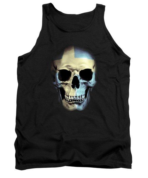 Swedish Skull Tank Top