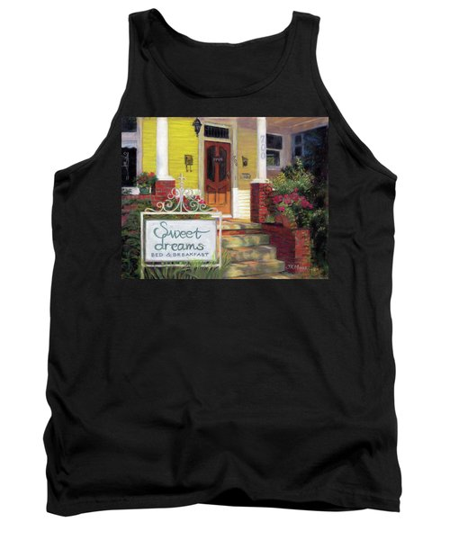 Tank Top featuring the painting Sweet Dreams by Julie Maas