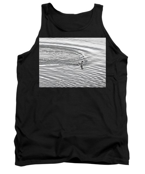 Tank Top featuring the photograph Swimming From Circles by Joe Bonita