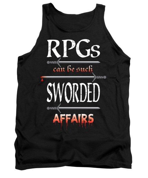 Sworded Affairs Tank Top