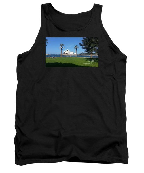 Sydney Opera House  Tank Top by Bev Conover