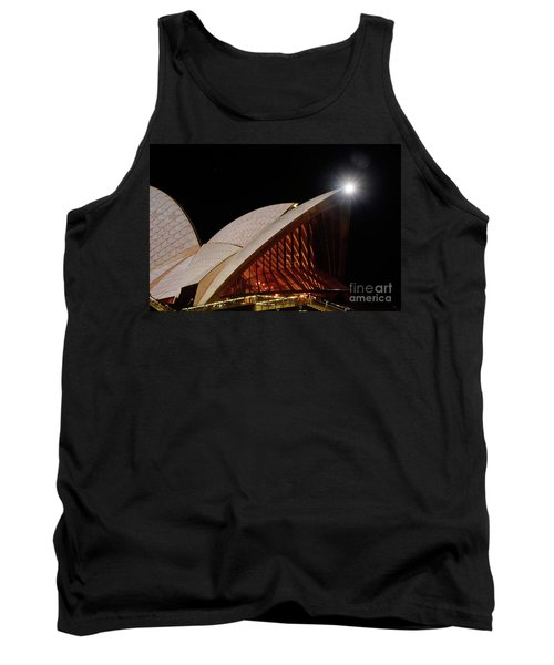 Tank Top featuring the photograph Sydney Opera House Close View By Kaye Menner by Kaye Menner