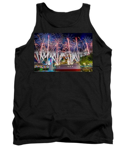 Symphony In The Stars As Seen Around Echo Lake Tank Top