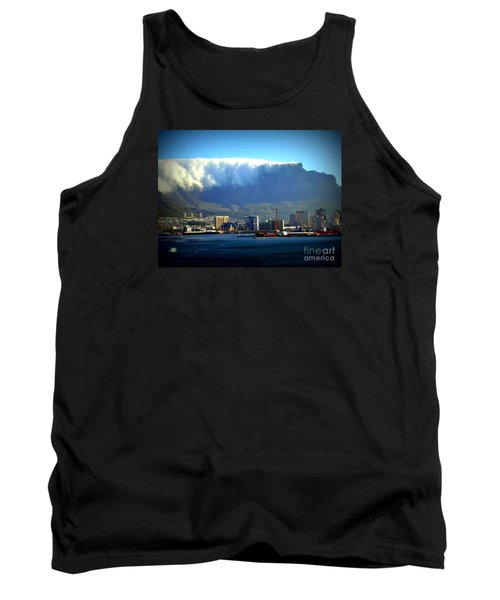 Table Rock With Cloud Tank Top by John Potts