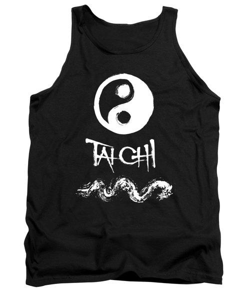 Tai Chi Black Tank Top
