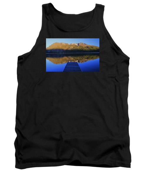 Tank Top featuring the photograph Take A Long Walk Off A Short Pier  by Sean Sarsfield