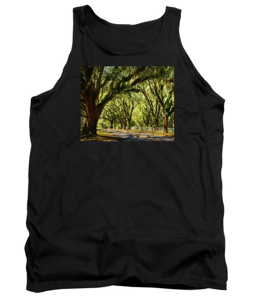 Tallahassee Canopy Road Tank Top by Carla Parris